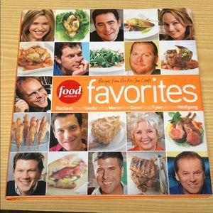 Food network recipes from all star chefs cookbook